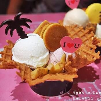 少女系的甜蜜冰淇淋屋,每口都是甜蜜!
