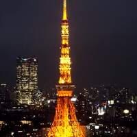▌日本東京 ▌【景點】東京夜景100選,火紅的東京鐵塔觀賞點,還有美食街可以覓食 ♥ 濱松町世界貿易中心 Seaside Top ♥